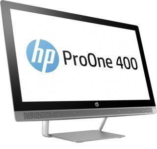 """Моноблок HP ProOne 440 G3, 23.8"""", Intel Core i5 7500T, 8Гб, 1000Гб, 128Гб SSD,  NVIDIA GeForce 930MX - 2048 Мб, DVD-RW, Windows 10 Professional, черный и серебристый [2tp43es]"""