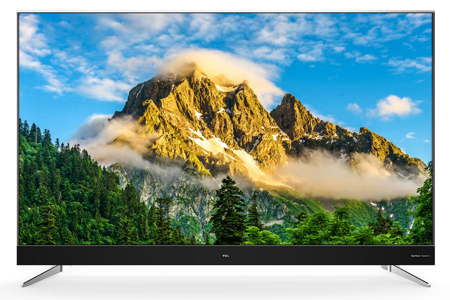 "LED телевизор TCL L70C2US  ""R"", 70"", Ultra HD 4K (2160p),  серебристый"