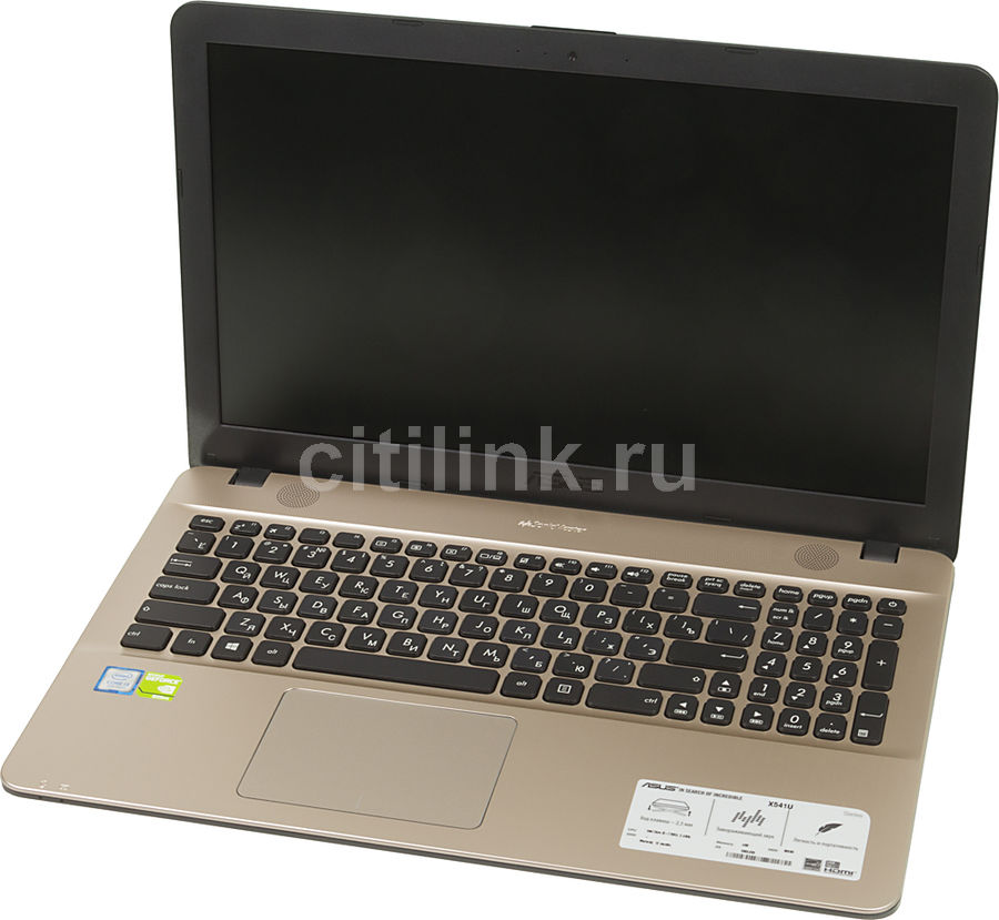 Ноутбук ASUS X541UV-GQ988, 15.6, Intel Core i3 7100U 2.4ГГц, 4Гб, 500Гб, nVidia GeForce 920MX - 2048 Мб, Endless, 90NB0CG1-M18970, черныйНоутбуки<br>экран: 15.6;  разрешение экрана: 1366х768; процессор: Intel Core i3 7100U; частота: 2.4 ГГц; память: 4096 Мб, DDR4; HDD: 500 Гб, 5400 об/мин; nVidia GeForce 920MX - 2048 Мб; WiFi;  Bluetooth; HDMI; WEB-камера; Endless<br>