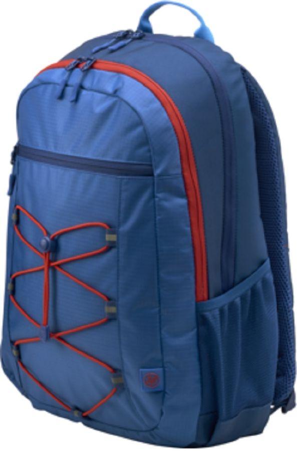 """Рюкзак 15.6"""" HP Active, синий/красный [1mr61aa]"""