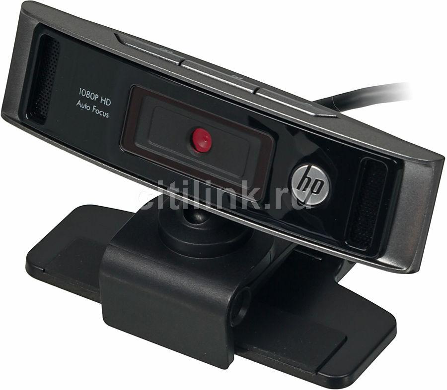 Web-камера HP HD4310, черный [y2t22aa]
