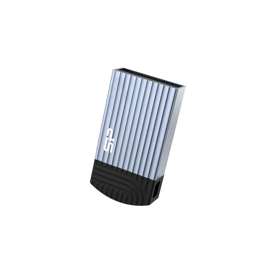Флешка USB SILICON POWER Jewel J20 16Гб, USB3.1, синий [sp016gbuf3j20v1b]