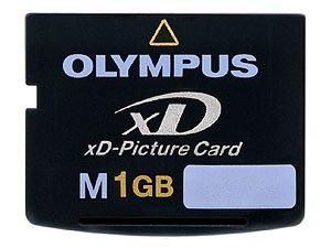 Карта памяти xD-Picture Card OLYMPUS 1 ГБ, MXD1GM
