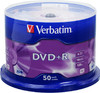 Оптический диск DVD+R VERBATIM 4.7Гб 16x, 50шт., cake box [43550] вид 1