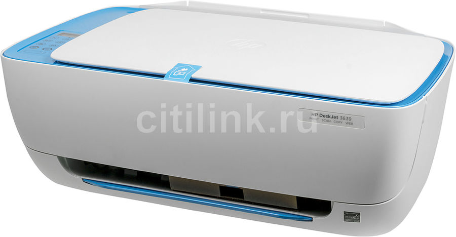 МФУ HP DeskJet 3639, A4, цветной, струйный, белый [f5s43c]