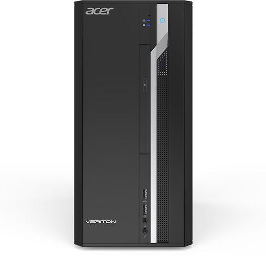 Компьютер  ACER Veriton ES2710G,  Intel  Core i3  7100,  DDR4 4Гб, 1000Гб,  Intel HD Graphics 630,  Free DOS,  черный [dt.vqeer.014]