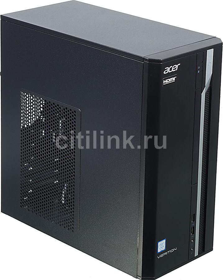 Компьютер  ACER Veriton ES2710G,  Intel  Core i3  7100,  DDR4 4Гб, 1000Гб,  Intel HD Graphics 630,  Windows 10 Home,  черный [dt.vqeer.021]