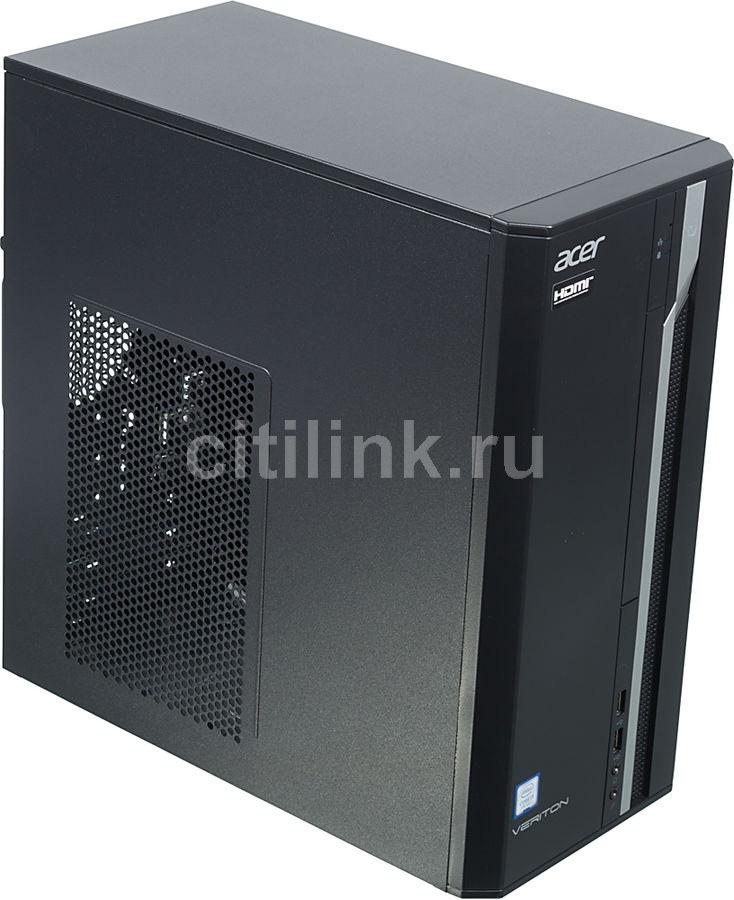 Компьютер  ACER Veriton ES2710G,  Intel  Core i3  7100,  DDR4 8Гб, 1000Гб,  Intel HD Graphics 630,  Free DOS,  черный [dt.vqeer.017]