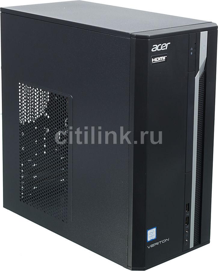 Компьютер  ACER Veriton ES2710G,  Intel  Core i3  7100,  DDR4 8Гб, 1000Гб,  Intel HD Graphics 630,  Windows 10 Professional,  черный [dt.vqeer.031]