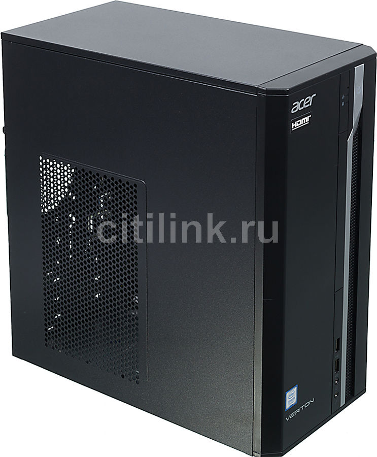 Компьютер ACER Veriton ES2710G, Intel Core i5 7400, DDR4 8Гб, 1000Гб, Intel HD Graphics 630, Windows 10 Professional, черный [dt.vqeer.033]Компьютеры<br>процессор: Intel Core i5 7400; частота процессора: 3 ГГц (3.5 ГГц, в режиме Turbo); оперативная память: DIMM, DDR4 8192 Мб 2400 МГц; видеокарта: Intel HD Graphics 630; HDD: 1000 Гб, 7200 об/мин<br><br>Линейка: Veriton