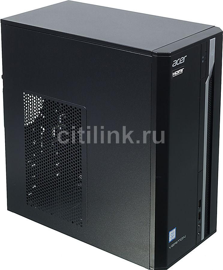Компьютер  ACER Veriton ES2710G,  Intel  Core i5  7400,  DDR4 8Гб, 1000Гб,  Intel HD Graphics 630,  Windows 10 Professional,  черный [dt.vqeer.033]