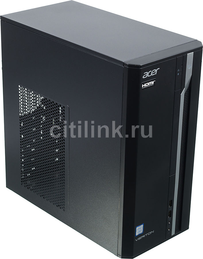 Компьютер ACER Veriton ES2710G, Intel Core i5 7400, DDR4 4Гб, 256Гб(SSD), Intel HD Graphics 630, Windows 10 Professional, черный [dt.vqeer.034]Компьютеры<br>процессор: Intel Core i5 7400; частота процессора: 3 ГГц (3.5 ГГц, в режиме Turbo); оперативная память: DIMM, DDR4 4096 Мб 2400 МГц; видеокарта: Intel HD Graphics 630; SSD: 256Гб<br><br>Линейка: Veriton