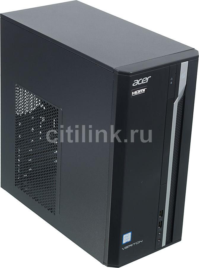 Компьютер  ACER Veriton ES2710G,  Intel  Core i3  7100,  DDR4 8Гб, 256Гб(SSD),  Intel HD Graphics 630,  Windows 10 Professional,  черный [dt.vqeer.032]