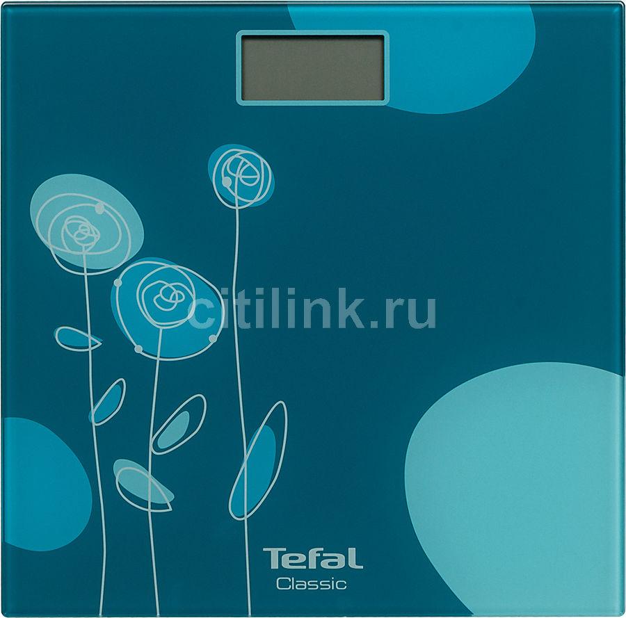 Напольные весы TEFAL PP1148V0, до 160кг, цвет: бирюзовый [2100101969]