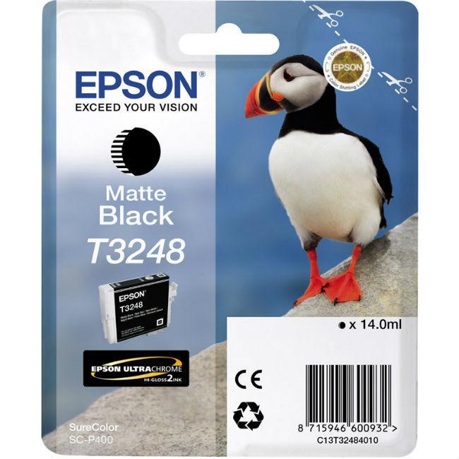Картридж EPSON T3248 черный матовый [c13t32484010]