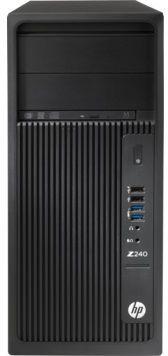 ПК HP Z240 MT i7 6700/32Gb/1Tb+1000Gb 7.2k/SSD256Gb/M2000 4Gb/DVDRW/CR/W10Pro64dwnW7Pro64/kb/m/черны