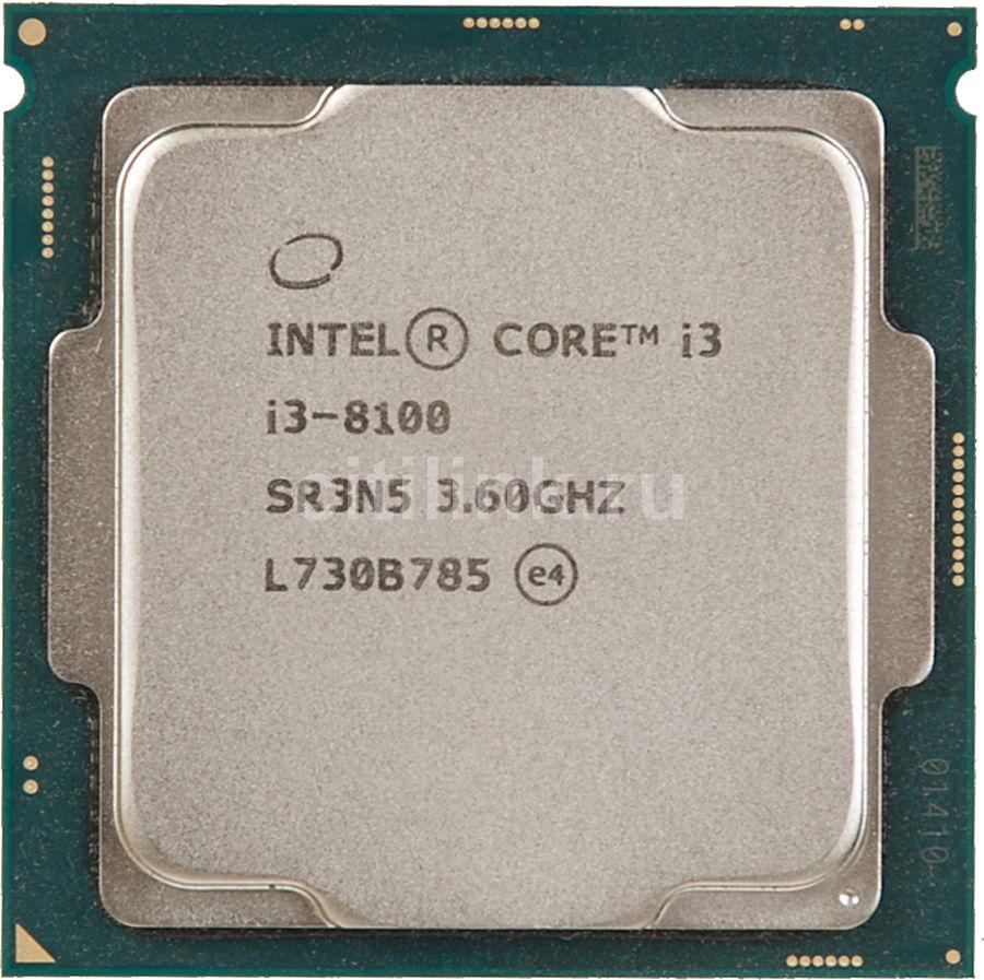 Процессор INTEL Core i3 8100, LGA 1151v2 OEM [cm8068403377308s r3n5]