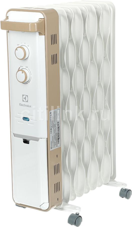 Масляный радиатор ELECTROLUX EOH/M-9209, 2000Вт, белый [нс-1100763]