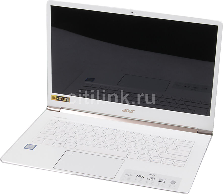 Ультрабук ACER Swift 5 SF514-51-75AC, 14, Intel Core i7 7500U, 2.7ГГц, 8Гб, 256Гб SSD, Intel HD Graphics 620, Linux, белый [nx.gnher.003]Ноутбуки<br>экран: 14;  разрешение экрана: 1920х1080; тип матрицы: IPS; процессор: Intel Core i7 7500U; частота: 2.7 ГГц (3.5 ГГц, в режиме Turbo); память: 8192 Мб, LPDDR3; SSD: 256 Гб; Intel HD Graphics 620; WiFi;  Bluetooth; HDMI; WEB-камера; Linux<br><br>Линейка: Swift 5