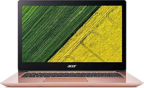 Ультрабук ACER Swift 3 SF314-52G-8240, 14, Intel Core i7 8550U, 1.8ГГц, 8Гб, 256Гб SSD, nVidia GeForce Mx150 - 2048 Мб, Linux, розовый [nx.gqyer.002]Ноутбуки<br>экран: 14;  разрешение экрана: 1920х1080; тип матрицы: IPS; процессор: Intel Core i7 8550U; частота: 1.8 ГГц (4 ГГц, в режиме Turbo); память: 8192 Мб, LPDDR3; SSD: 256 Гб; nVidia GeForce Mx150 - 2048 Мб; WiFi;  Bluetooth; HDMI; WEB-камера; Linux<br><br>Линейка: Swift 3