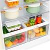 Холодильник LG GR-H802HEHZ,  двухкамерный, бежевый вид 13