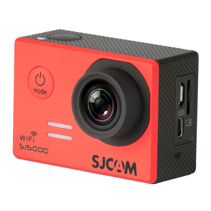 Экшн-камера SJCAM SJ5000 WiFi 1080p,  WiFi,  красный [sj5000wifired]