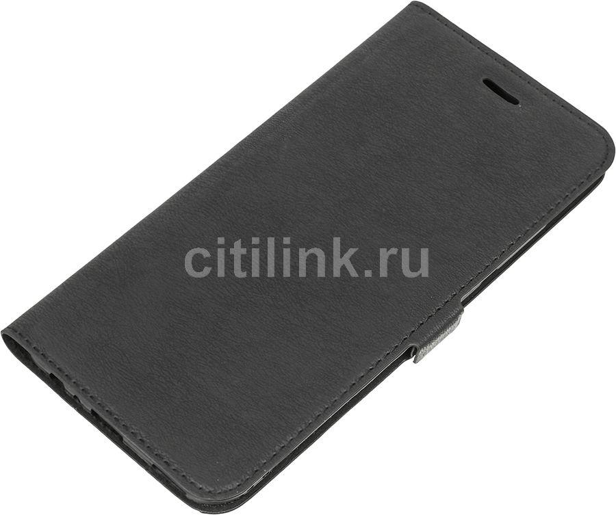 Чехол (флип-кейс) DF hwFlip-15, для Huawei Honor 8 Pro, черный