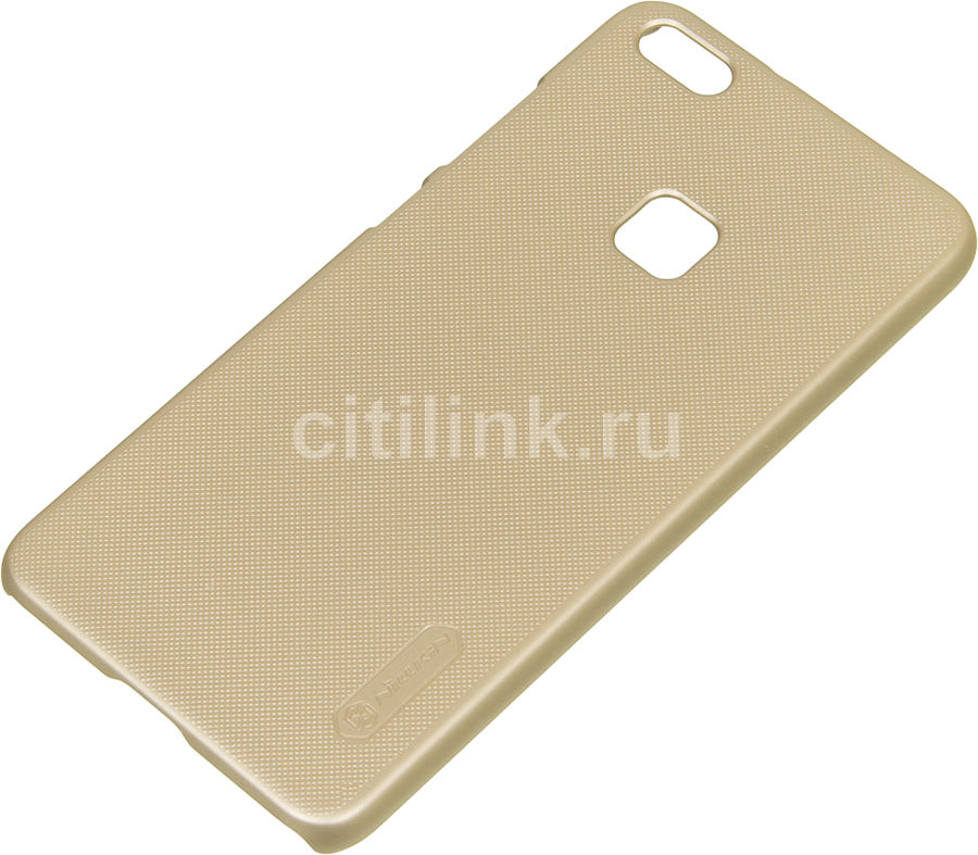 Чехол (клип-кейс) Nillkin Super Frosted, для Huawei P10 Lite, золотист