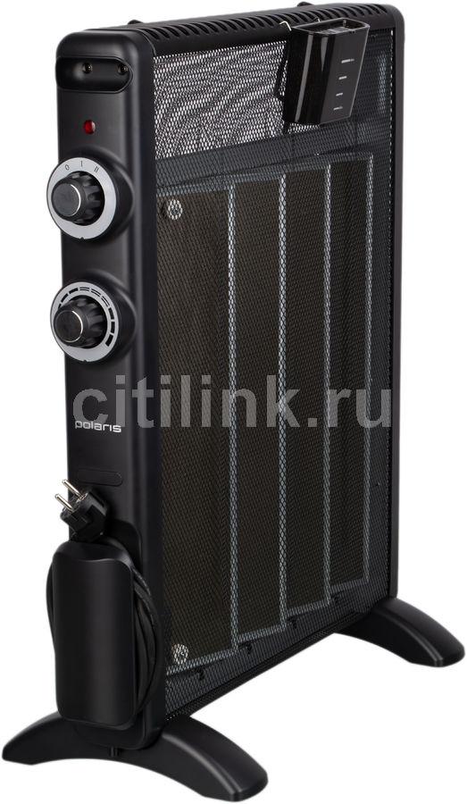 Обогреватель микатермический POLARIS PMH 2085,  2000Вт,  черный