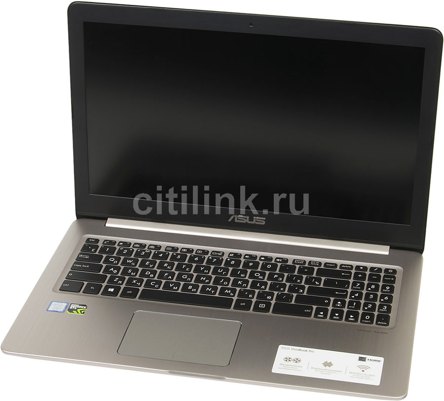 "Ноутбук ASUS N580VD-DM612T, 15.6"", Intel  Core i7  7700HQ 2.8ГГц, 8Гб, 1000Гб, 256Гб SSD,  nVidia GeForce  GTX 1050 - 2048 Мб, Windows 10, 90NB0FL1-M09290,  золотистый"