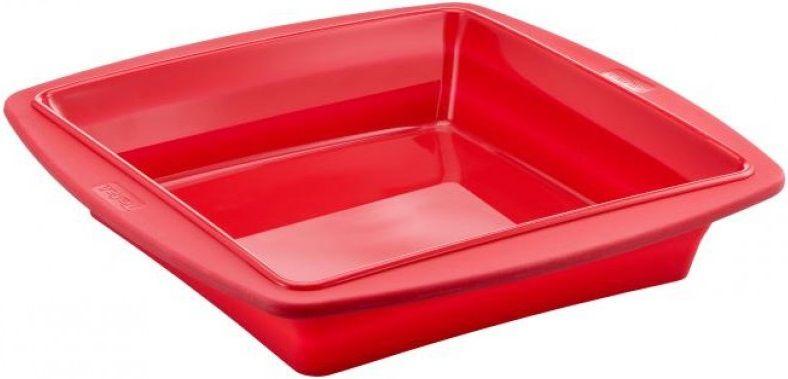 Форма для выпечки Tefal J4090554 квадр. 23x23см силикон платиновый красный (2100090373)