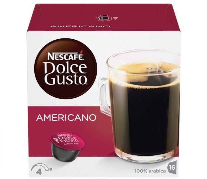 Кофе капсульный DOLCE GUSTO Americano,  капсулы, совместимые с кофемашинами DOLCE GUSTO® [12378322|12115461]