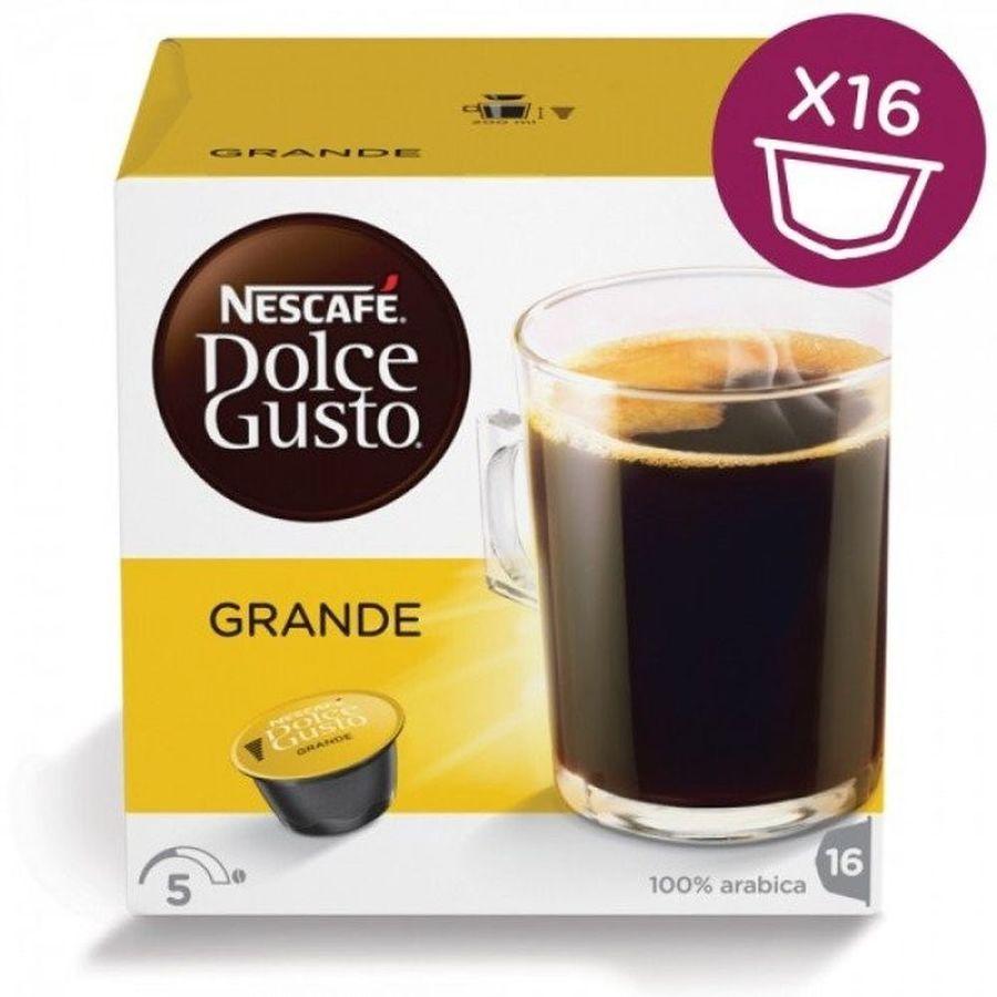 Кофе капсульный DOLCE GUSTO Grande,  капсулы, совместимые с кофемашинами DOLCE GUSTO®, 128грамм [12120090]