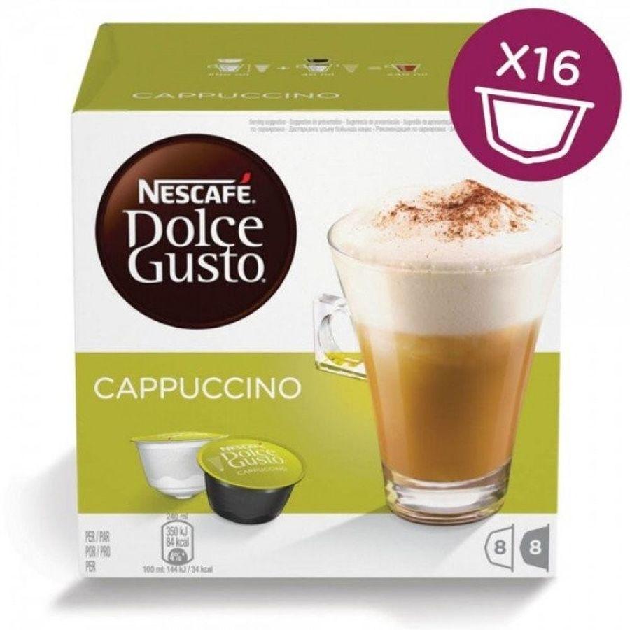 Кофе капсульный DOLCE GUSTO Cappuccino,  капсулы, совместимые с кофемашинами DOLCE GUSTO®, 200грамм [5219849]