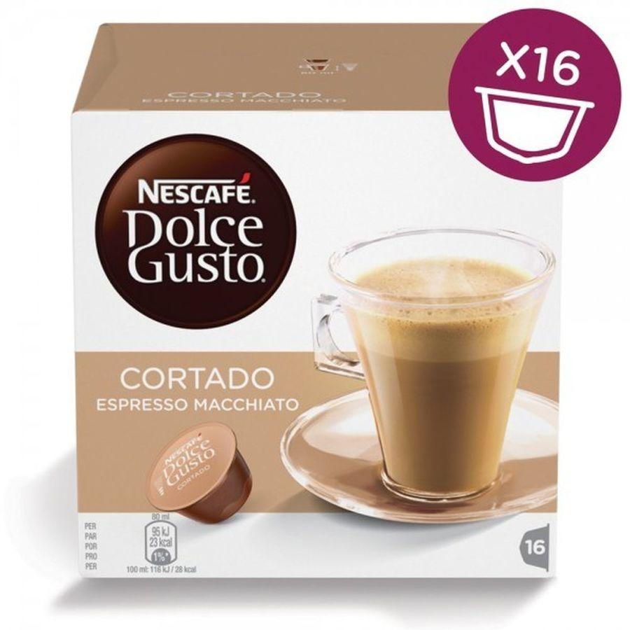Кофе капсульный DOLCE GUSTO Cortado,  капсулы, совместимые с кофемашинами DOLCE GUSTO®, 100.8грамм [12121894]