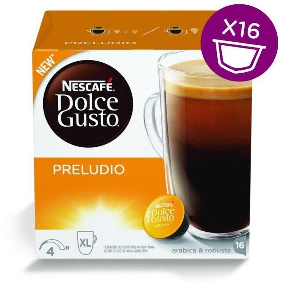 Кофе капсульный DOLCE GUSTO Preludio,  капсулы, совместимые с кофемашинами DOLCE GUSTO® [12314472]