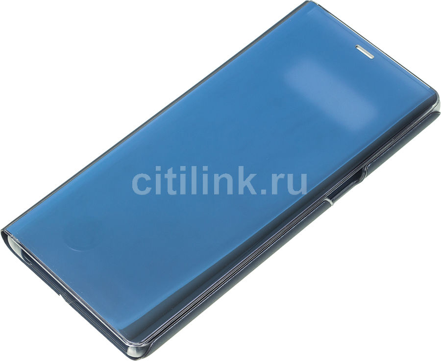 Чехол (флип-кейс) SAMSUNG Clear View Standing Cover Great, для Samsung Galaxy Note 8, темно-синий [ef-zn950cnegru] чехол флип кейс samsung s view standing cover для samsung galaxy a7 2017 синий [ef ca720plegru]