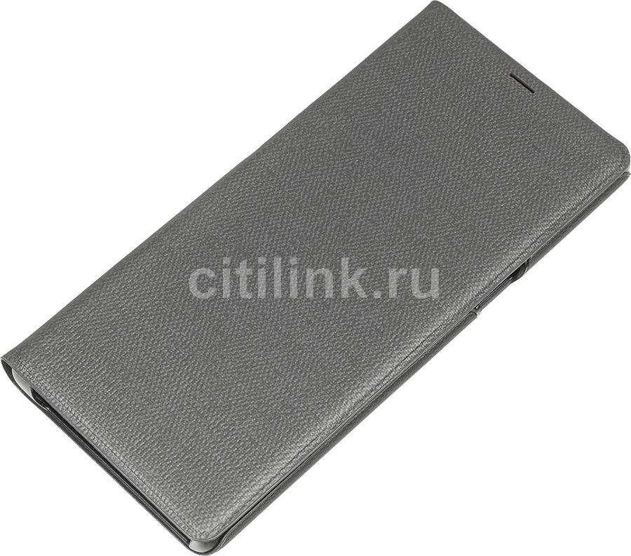 Чехол (флип-кейс) SAMSUNG LED View Cover, для Samsung Galaxy Note 8, черный [ef-nn950pbegru] protective silicone back case w stand for samsung galaxy note 3 translucent grey white