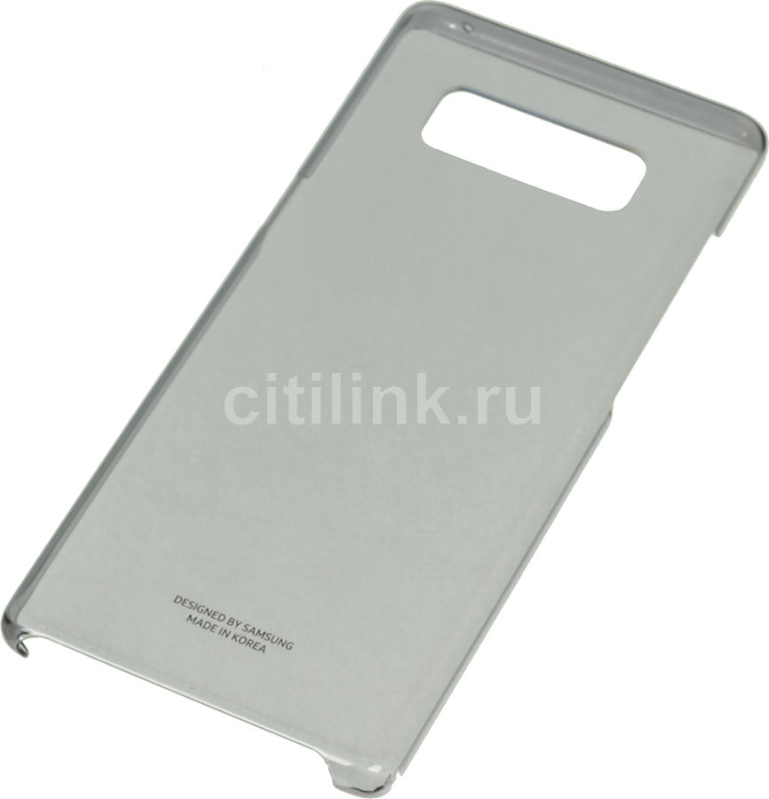 Чехол (клип-кейс) SAMSUNG Clear Cover Great, для Samsung Galaxy Note 8, черный [ef-qn950cbegru] чехол клип кейс samsung alcantara cover great для samsung galaxy note 8 хаки [ef xn950akegru]