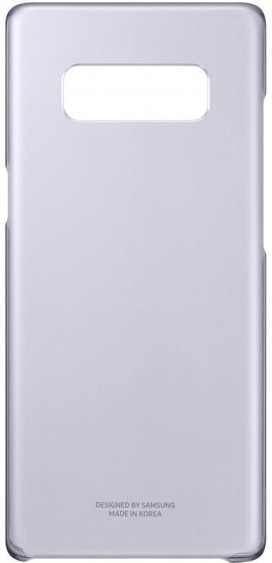 Чехол (клип-кейс) SAMSUNG Clear Cover Great, для Samsung Galaxy Note 8, фиолетовый [ef-qn950cvegru] чехол клип кейс samsung alcantara cover great для samsung galaxy note 8 хаки [ef xn950akegru]
