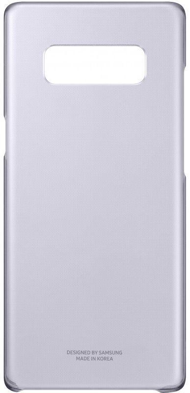 Чехол (клип-кейс) SAMSUNG Clear Cover Great, для Samsung Galaxy Note 8, фиолетовый [ef-qn950cvegru]