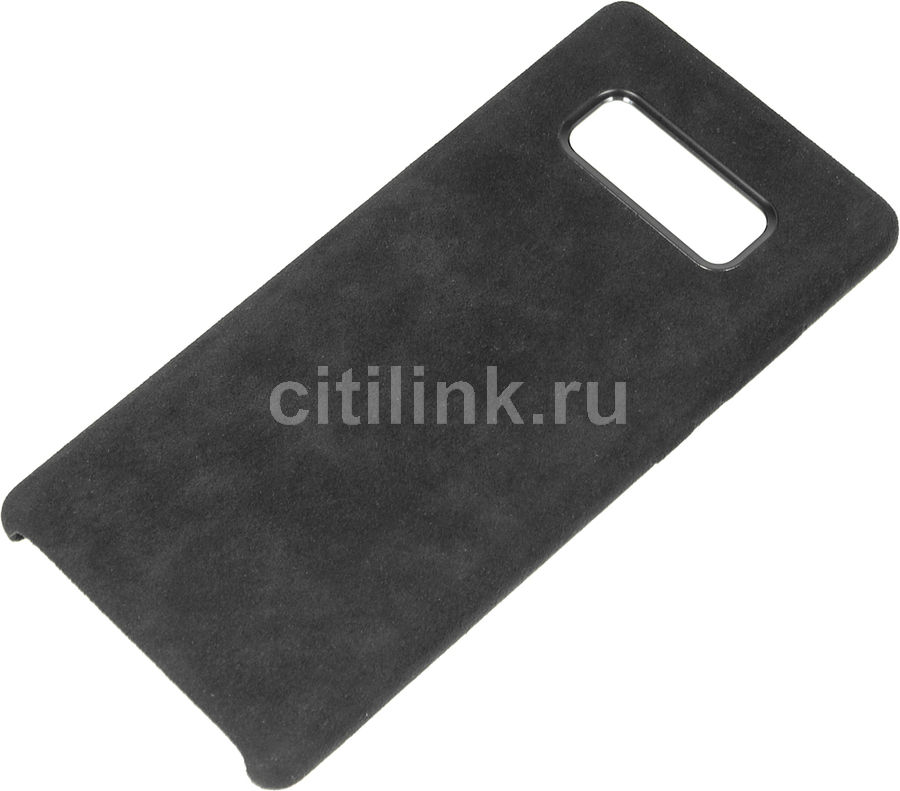 Чехол (клип-кейс) SAMSUNG Alcantara Cover Great, для Samsung Galaxy Note 8, черный [ef-xn950abegru] protective silicone back case w stand for samsung galaxy note 3 translucent grey white