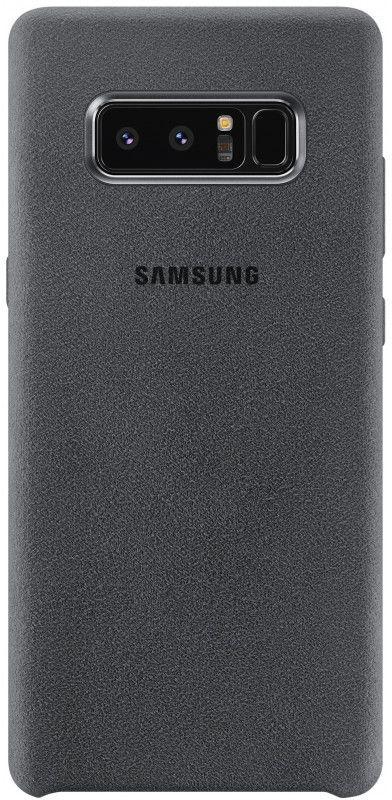 Чехол (клип-кейс) SAMSUNG Alcantara Cover Great, для Samsung Galaxy Note 8, темно-серый [ef-xn950ajegru]