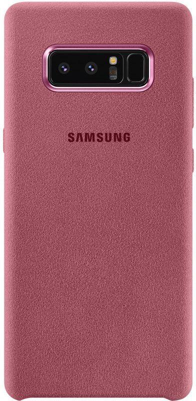 Чехол (клип-кейс) SAMSUNG Alcantara Cover Great, для Samsung Galaxy Note 8, розовый [ef-xn950apegru]