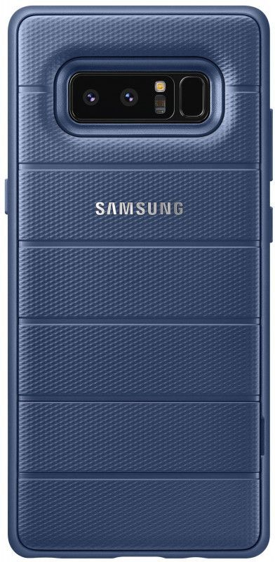 Чехол (клип-кейс) SAMSUNG Protective Standing Cover Great, для Samsung Galaxy Note 8, темно-синий [ef-rn950cnegru] чехол для смартфона samsung galaxy note 8 clear cover great фиолетовый ef qn950cvegru ef qn950cvegru