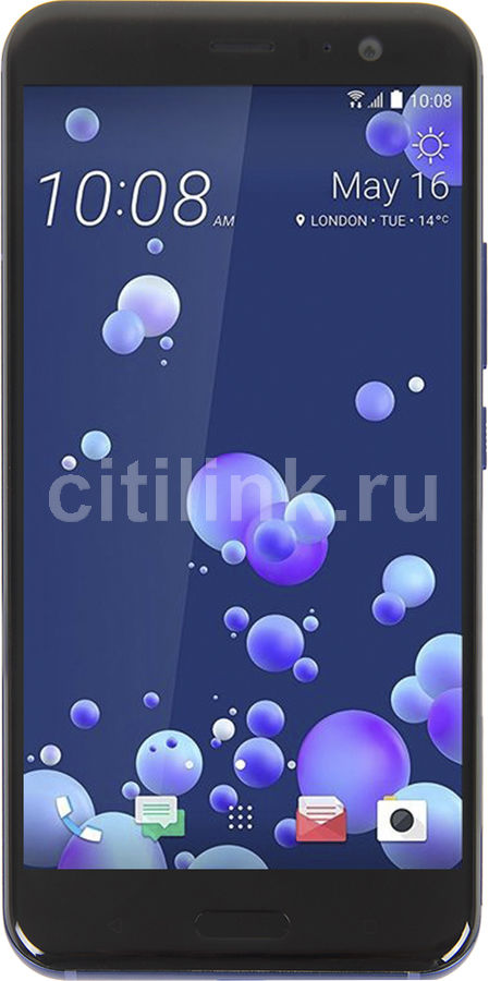 Смартфон HTC U11 64Gb, синий смартфон htc u11 64gb amazing silver