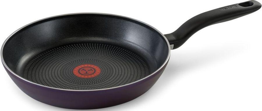 Мультисковорода TEFAL Cook Right 04166122, 22см, без крышки,  сиреневый [9100023401]