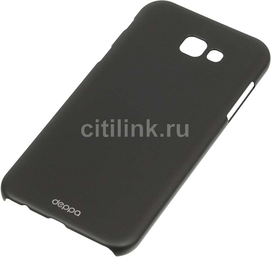 Чехол (клип-кейс) DEPPA Air Case, для Samsung Galaxy A7 (2017), черный [83289]