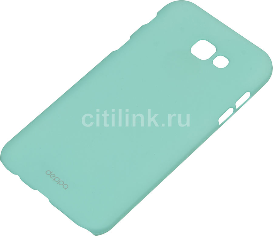 Чехол (клип-кейс) DEPPA Air Case, для Samsung Galaxy A7 (2017), мятный [83291] 360 rotary flip open pu case w stand for 10 5 samsung galaxy tab s t805 white