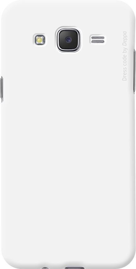 Чехол (клип-кейс) DEPPA Air Case, для Samsung Galaxy J7 (2016), белый [83254]